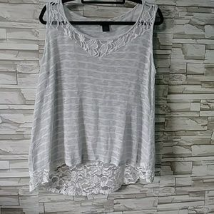 Torrid sheer tank top